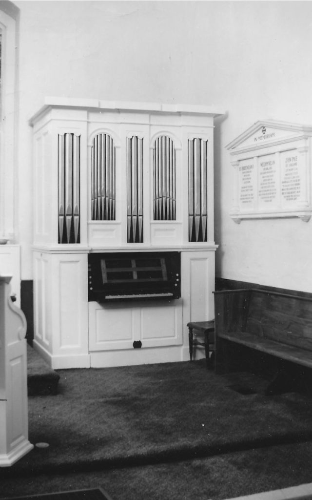 Berger organ sold to Fork Episcopal, Doswell